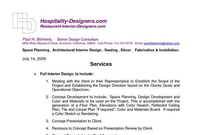 lawn service contract templates interior designer contract – Service Contract in Word