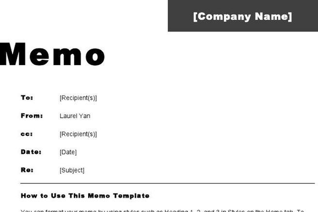 Office Memo Template. Interoffice Memo Template Free Download