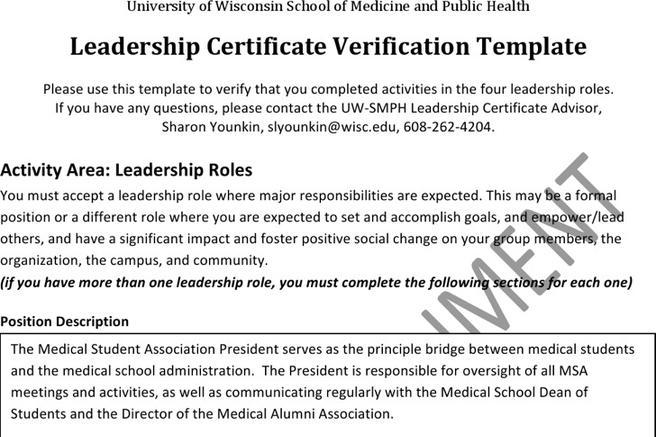 Certificate template download free premium templates forms sportsmanship certificate templates leadership certificate templates yadclub Gallery