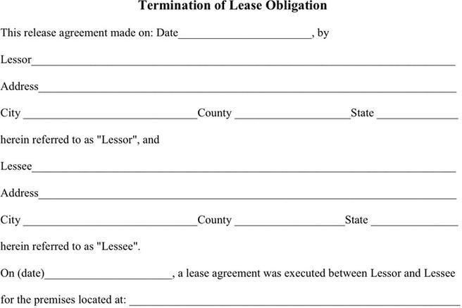 Lease Termination Agreement | Download Free & Premium Templates