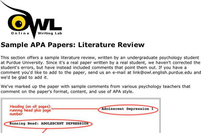 apa citation review of related literature An update on the status of current research related to the issue mla or apa literature review take a look at the following sample review of literature.