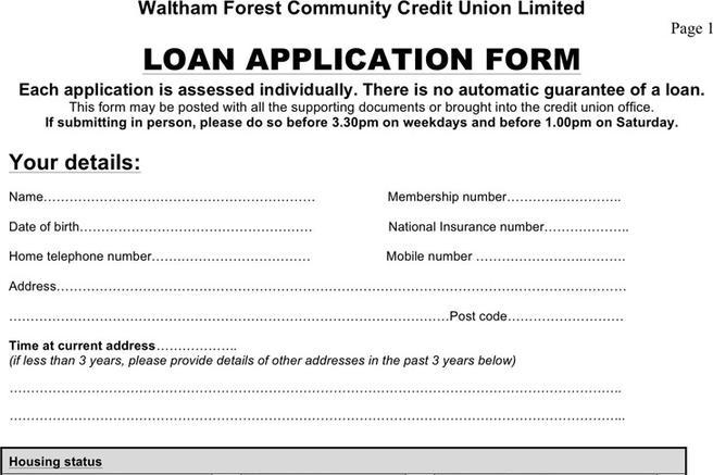 Students Loan Application Forms to Download for Free