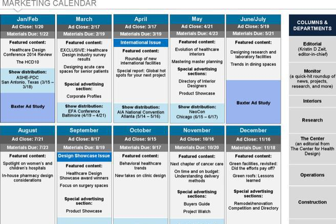 Menstrual Calendar Template