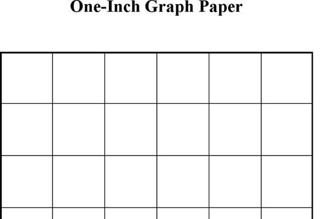 1 Inch Graph Paper | Download Free U0026 Premium Templates, Forms U0026 Samples For  JPEG, PNG, PDF, Word And Excel Formats
