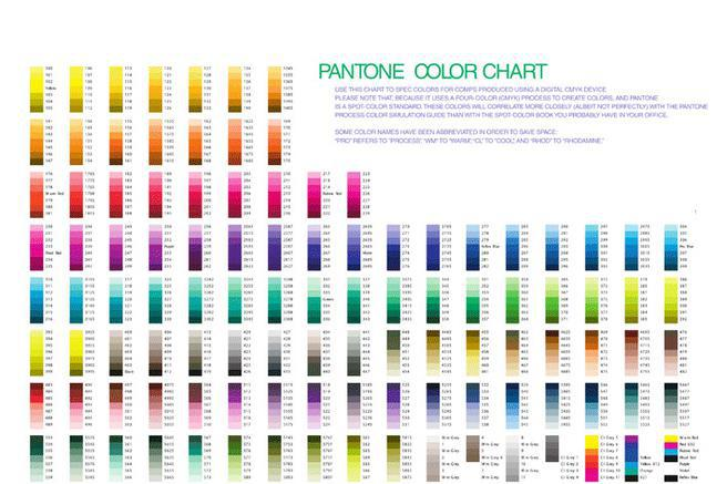 Color Chart | Download Free & Premium Templates, Forms & Samples