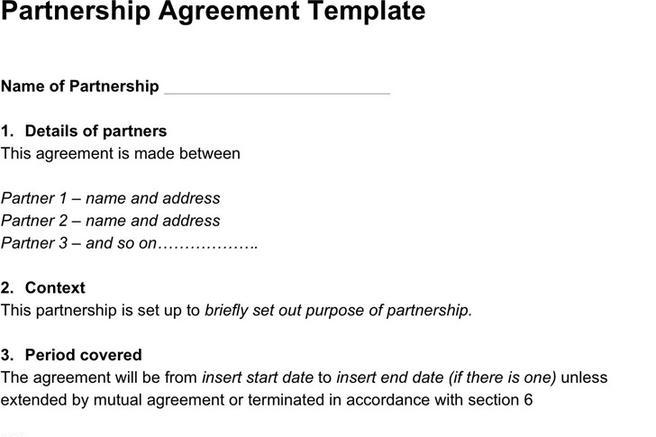 Agreement Template | Download Free & Premium Templates, Forms