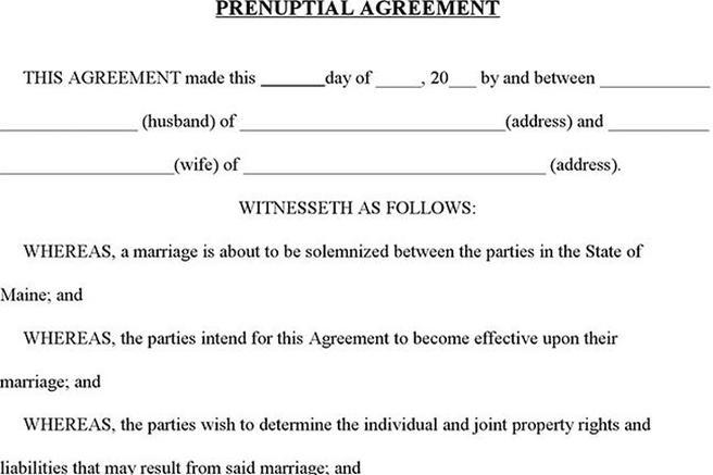 Family Law Form