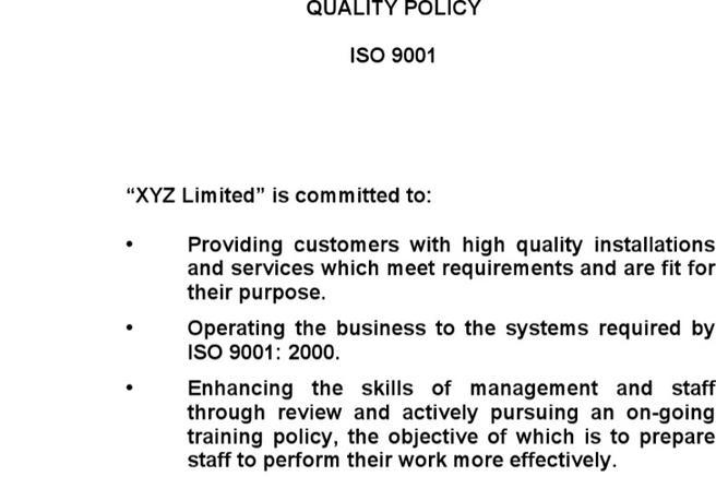quality policy templates download free premium templates forms samples for jpeg png pdf word and excel formats