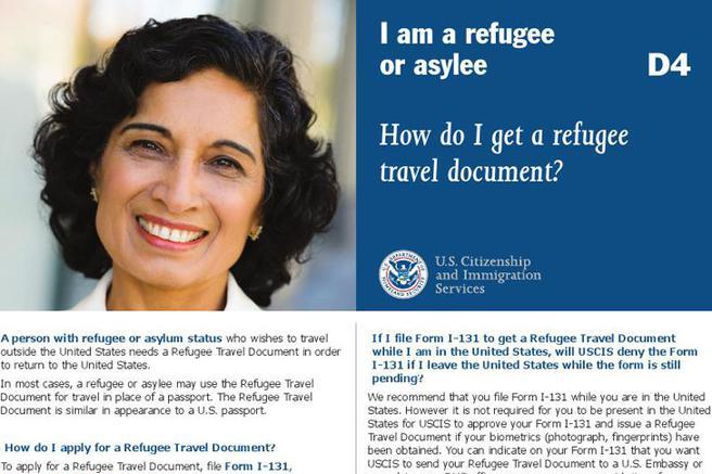 Refugee Travel Document