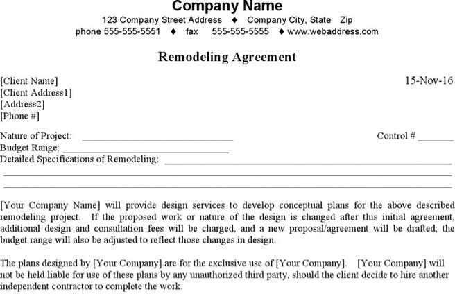Contract Template  Download Free  Premium Templates Forms