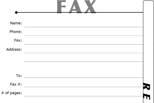 Fax Resume Cover Sheet Resume Fax Cover Letter Resume Cv Cover