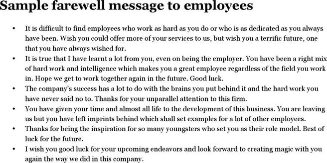 Message Template – Message Sample