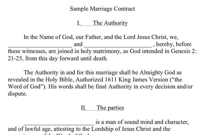 Marriage Agreement Sample Choice Image Agreement Letter Format