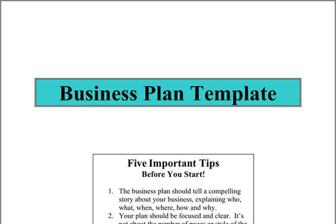 Plan Template | Download Free & Premium Templates, Forms & Samples