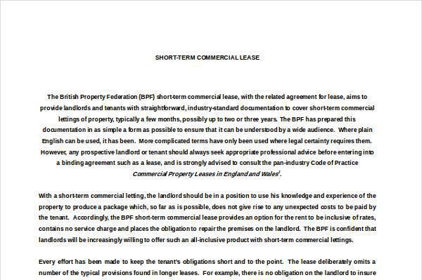 Property Rental Agreement Templates  Download Free  Premium