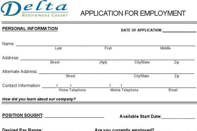Job Application Form Download Free Premium Templates Forms
