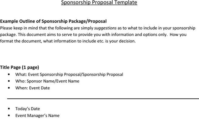 sponsorship proposal template download free premium templates forms samples for jpeg png pdf word and excel formats