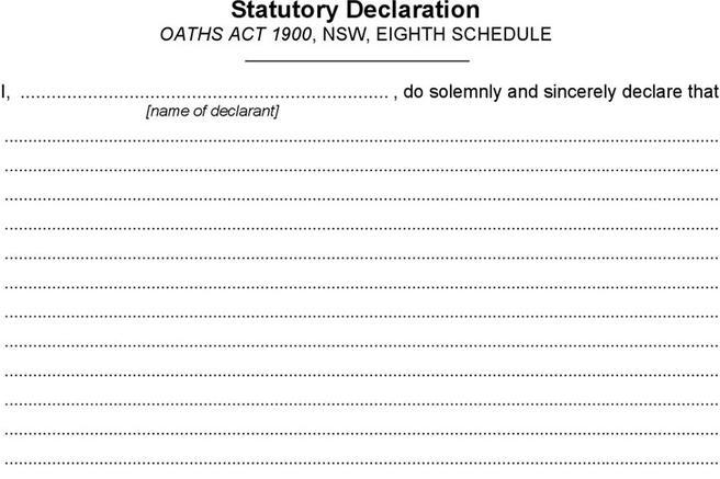 Affidavit Form  Download Free  Premium Templates Forms