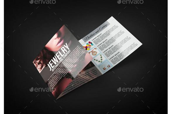 Amazing Jewelry Brochure Template Photos - Best Resume Examples