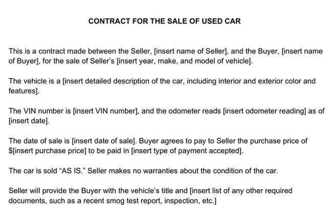 Sales Contract Template  Download Free  Premium Templates Forms