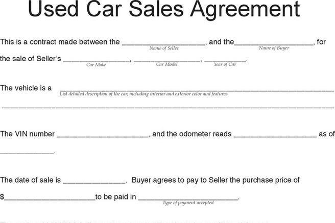 Purchase Agreement | Download Free & Premium Templates, Forms