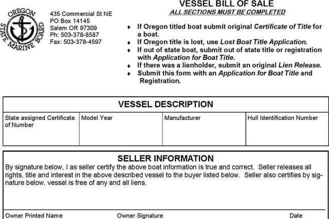 Bill of sale form download free premium templates for Outboard motor bill of sale