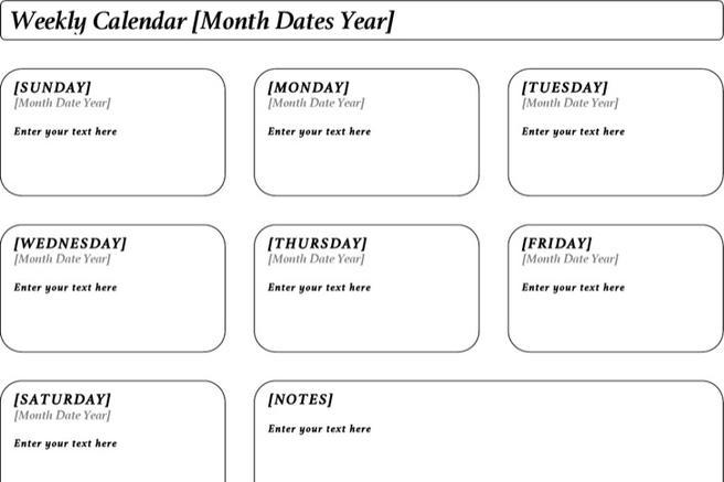 Calendar Template | Download Free & Premium Templates, Forms