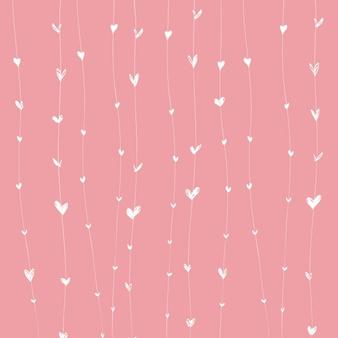 facebook disclaimer template - animal print hearts with sparkle facebook background