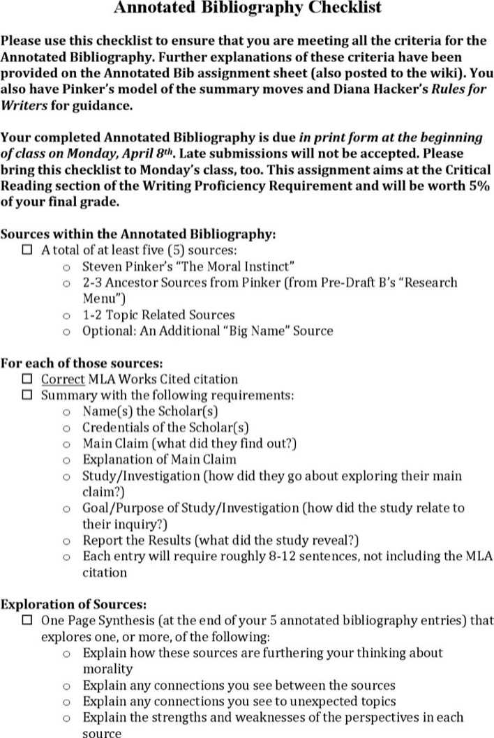 annotated bibliography 8 essay Annotated bibliography of research methods locate and read peer-reviewed articles on a variety of research designs and methods be sure to include at least.