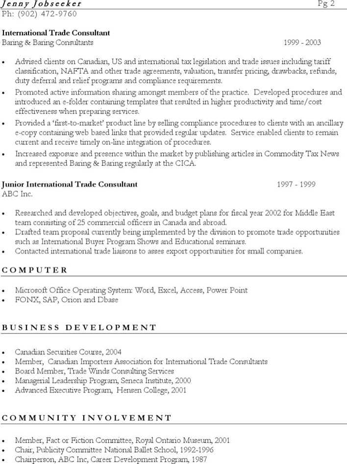 bilingual customer service resume