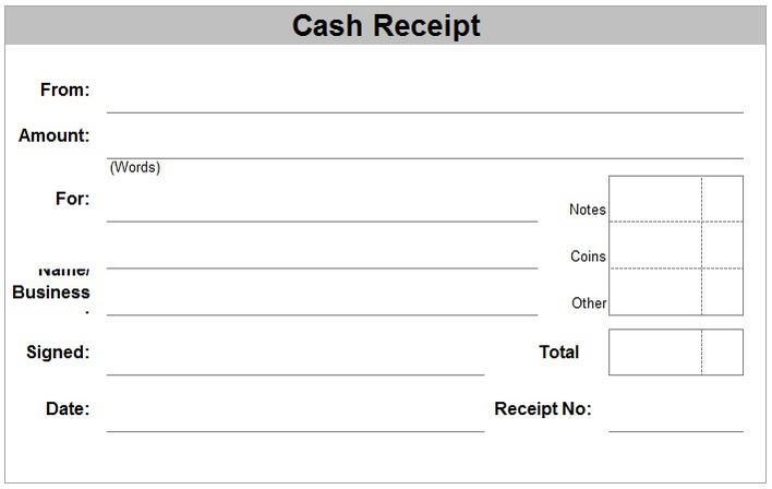 Cash Voucher Template Free Doc Format – Cash Voucher Template