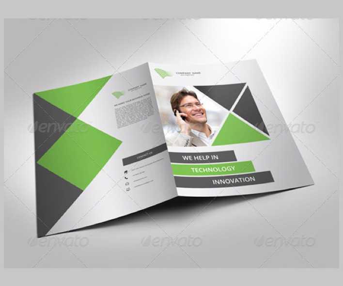 Documentation software template for brochures