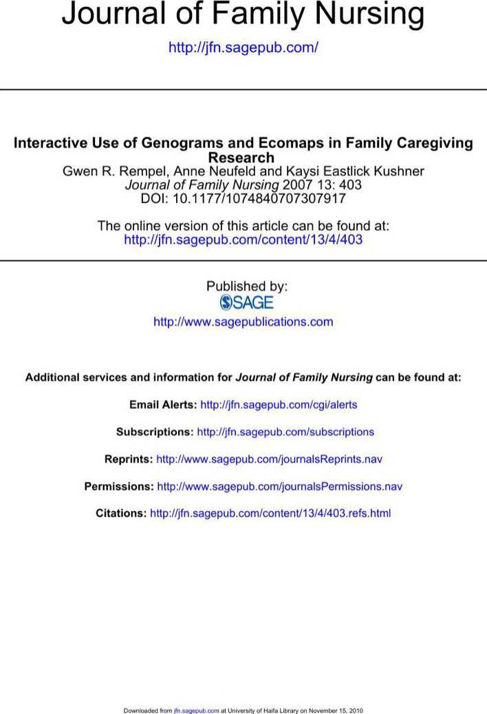 genograms and ecomaps Simple guide to eco-maps like genograms are a visual tool that can provide very useful information for workers and clients in using ecomaps as a baseline for.