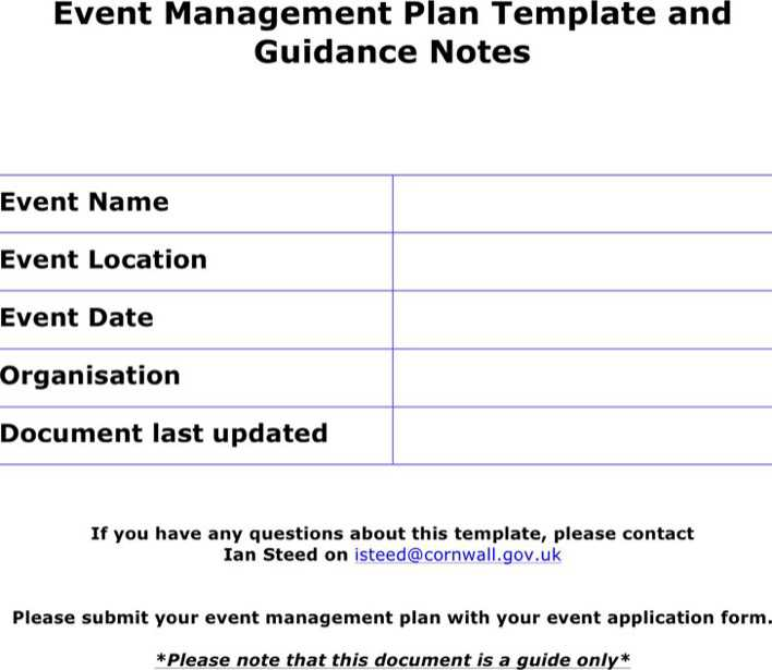 event plan There are many important and sometimes forgotten elements involved in planning events the walk-through pdf below can serve as a basic guide as you begin to plan an event on campus.