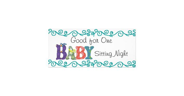 Baby Sitting Coupon Template