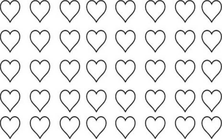 Free Heart Shaped Macaron Template Word Download  Download Free