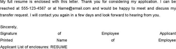 job transfer request letter template page 2