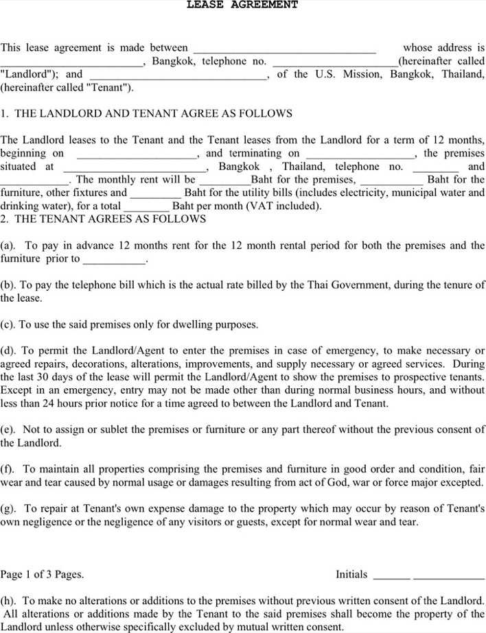 Lease agreement 2 download free premium templates for Excluded tenancy agreement template