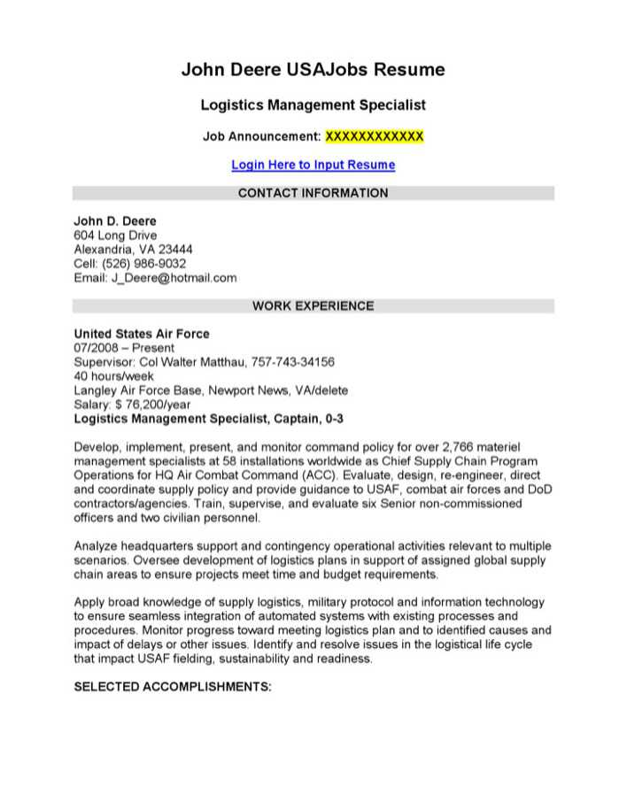 Logistics management specialist resume template download for Transport management plan template