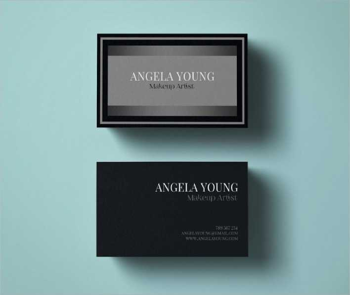 Makeup artist business card template download free premium makeup artist business card template page 1 accmission Images