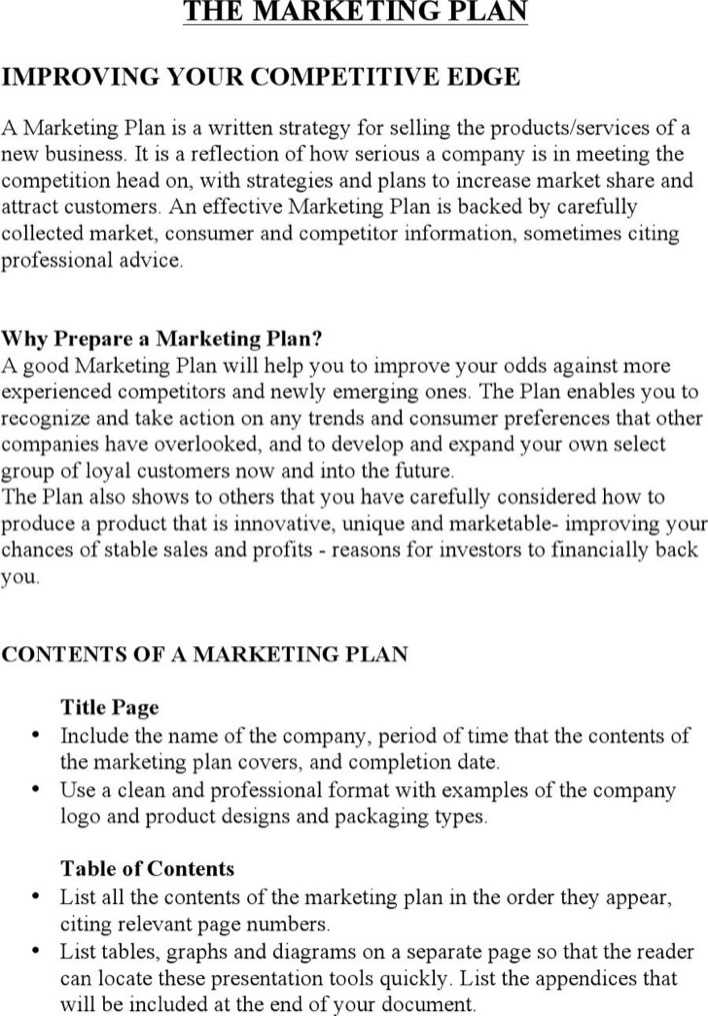 new product marketing plan A marketing plan shows the specifics of how you will market or attempt to sell  your product or  new product or service offered.