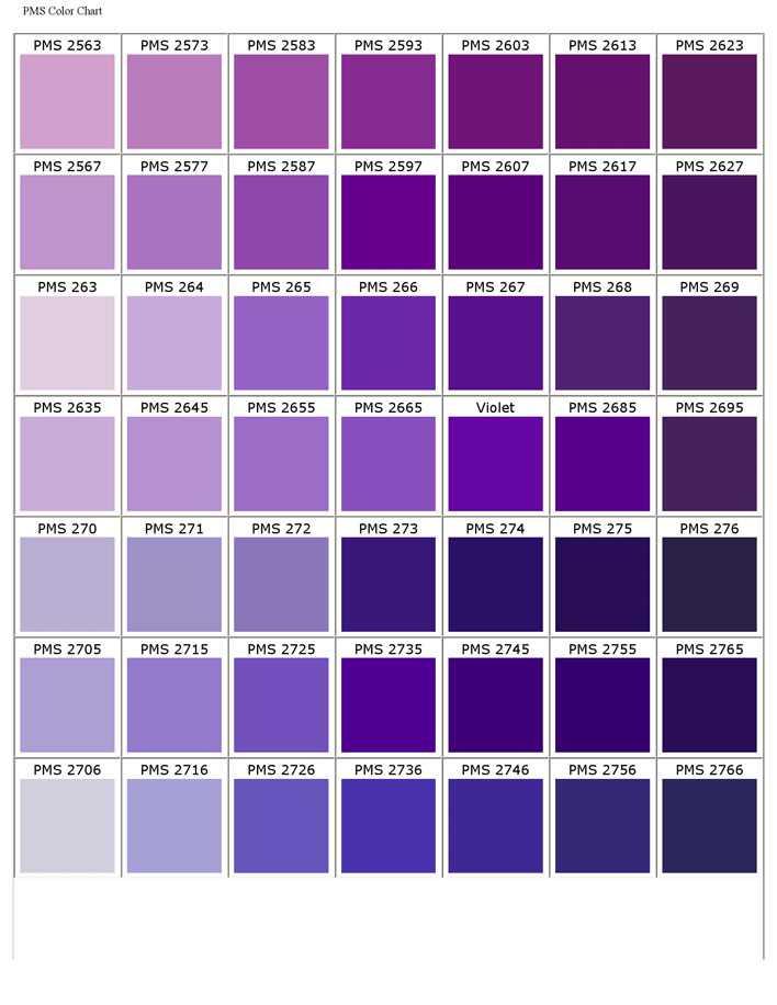 pantone matching system color chart pdf