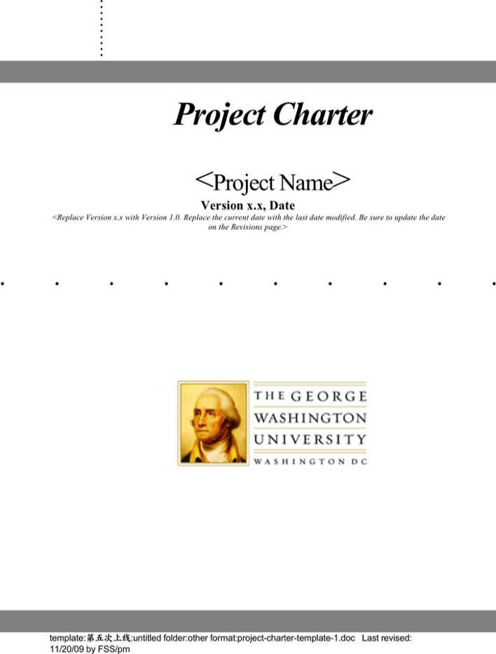 one page project charter template - project charter template 1 download free premium