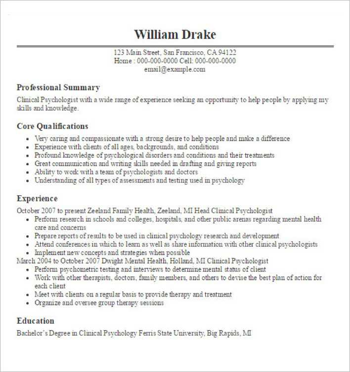 psychologist resume template download free premium templates forms samples for jpeg png