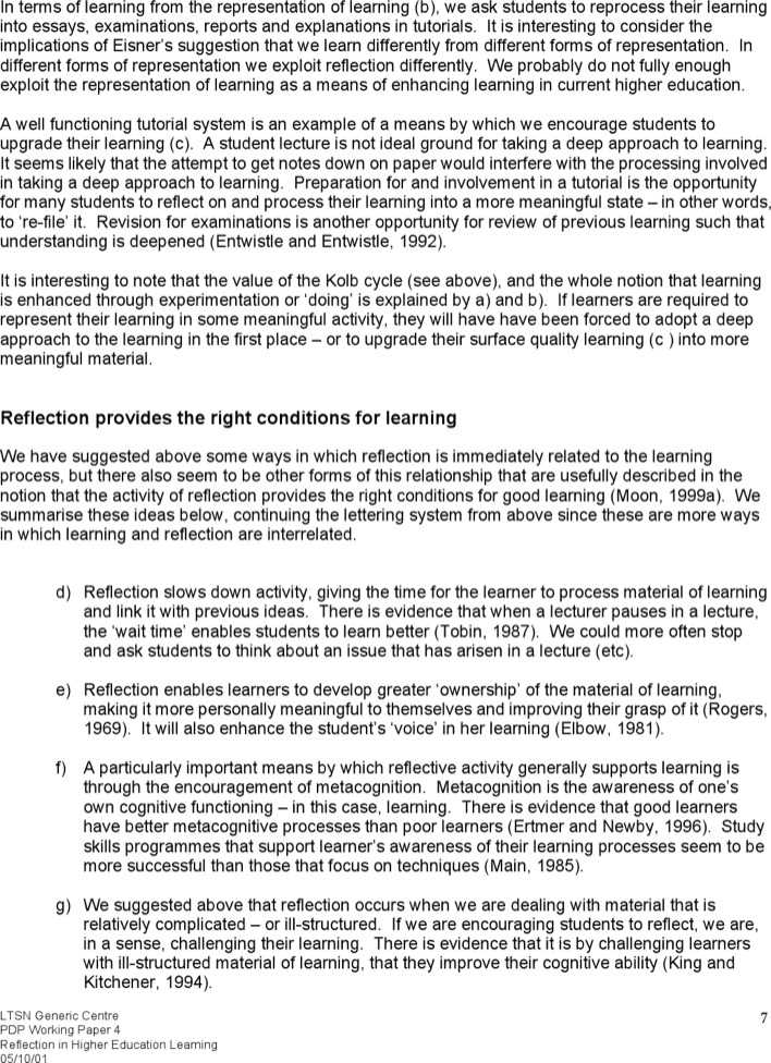 midterm learning reflection 2 essay