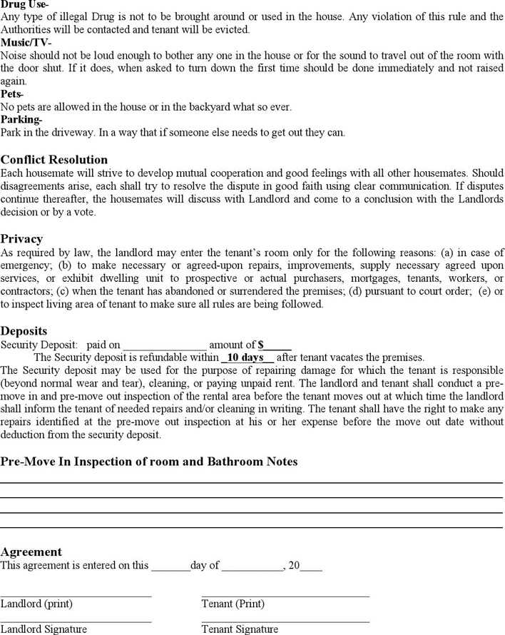 Home Rental Agreement Download Free Premium Templates Forms
