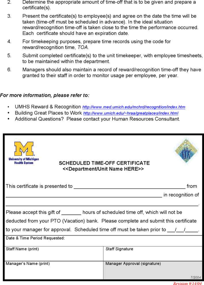 safety recognition certificate template download free