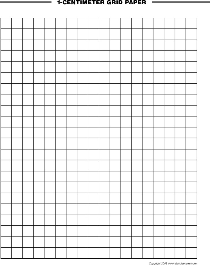 Centimeter Graph Paper – Download Graph Paper for Word