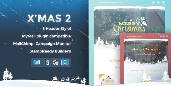 12 X-Must Christmas E-Mail Templates Html Format