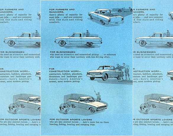 1960 Ford Falcon Ranchero Brochure